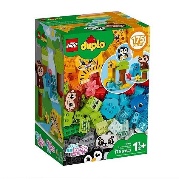 【南紡購物中心】【LEGO 樂高積木】得寶 Duplo系列- 創意動物積木世界 (175pcs)10934