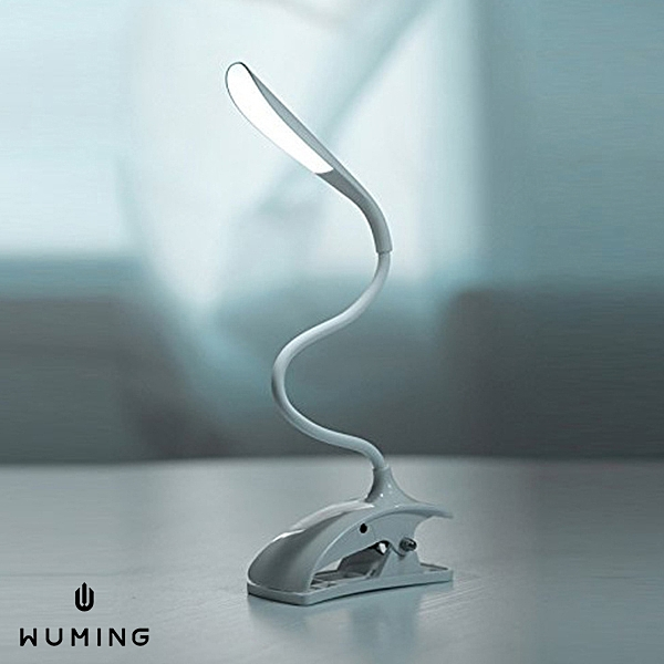 兩用 夾式 LED 檯燈 桌燈 USB 觸控開關 360度 可彎曲 可調角度 車上 居家 書桌 『無名』 M05119