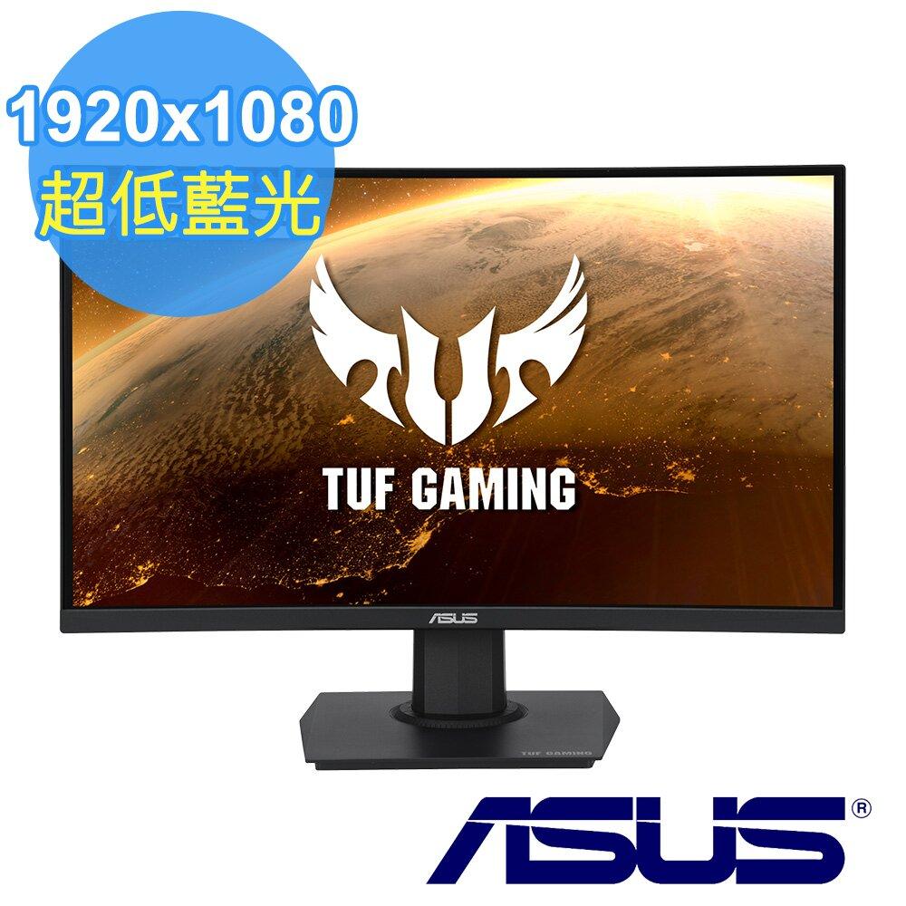 ASUS 華碩 TUF Gaming VG24VQE 24型 165Hz 曲面電競螢幕