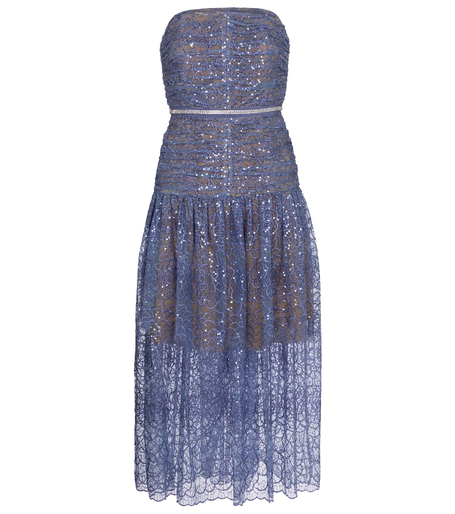 Exclusive to Mytheresa - Sequined midi dress