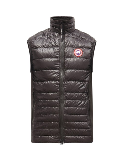 Canada Goose - Hybridge Quilted-down Gilet - Mens - Black