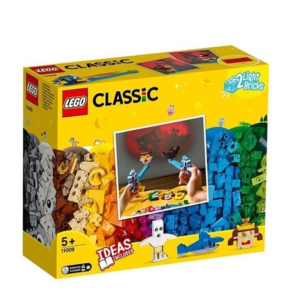 【南紡購物中心】【LEGO 樂高積木】經典基本顆粒Classic 系列-顆粒與燈光11009