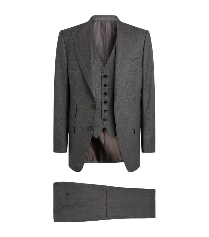 Tom Ford Windsor Check 3-Piece Suit