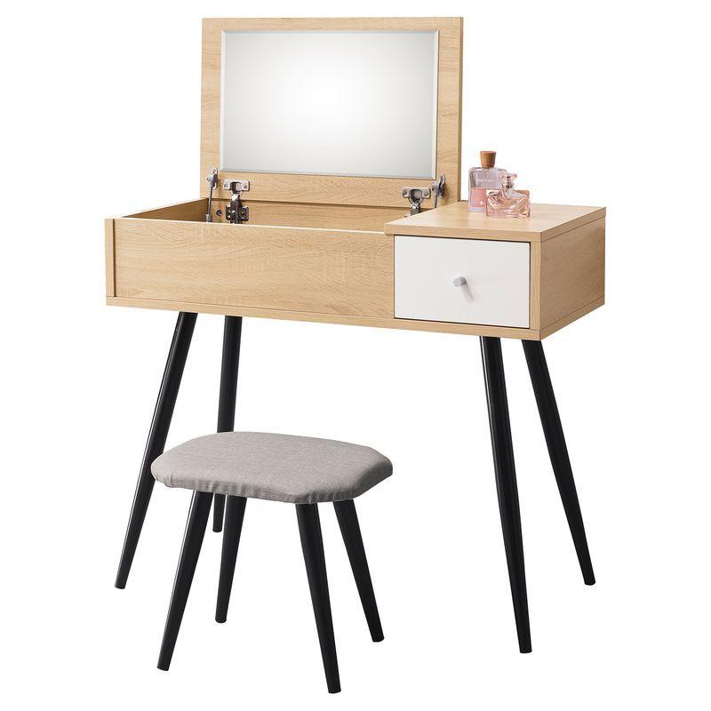 【HB202-03】邦尼3尺掀鏡台(含椅)