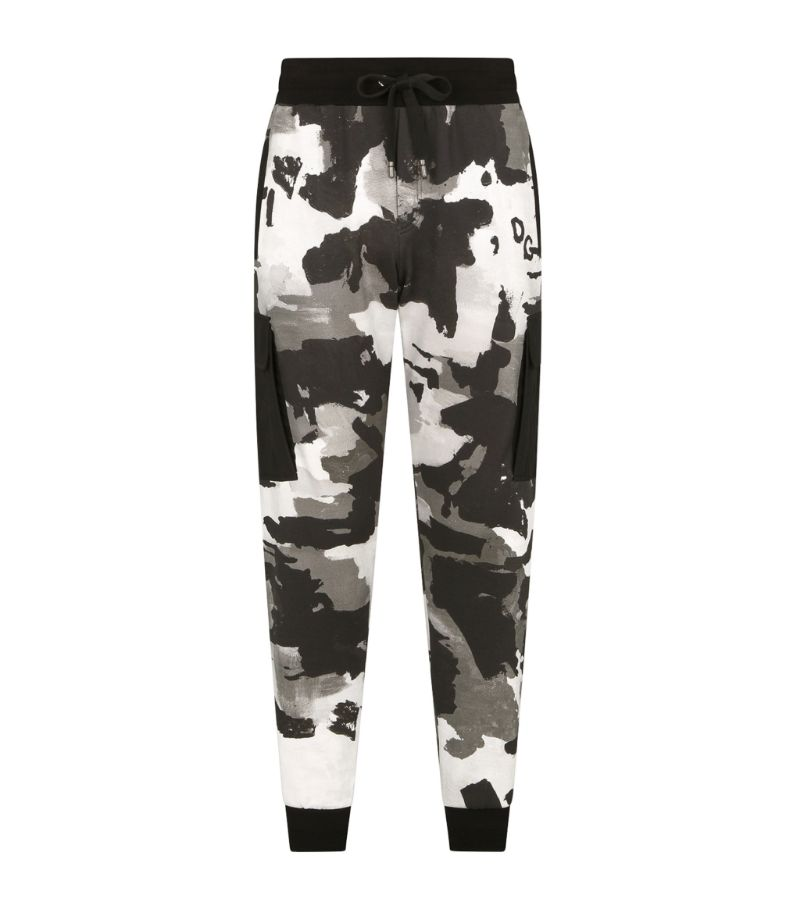 Dolce & Gabbana Camouflage Sweatpants