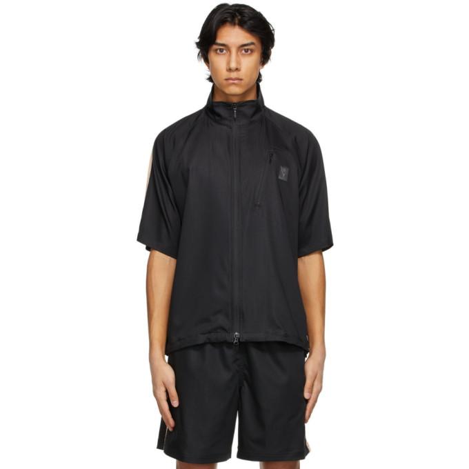 South2 West8 黑色 Trail 拉链短袖衬衫