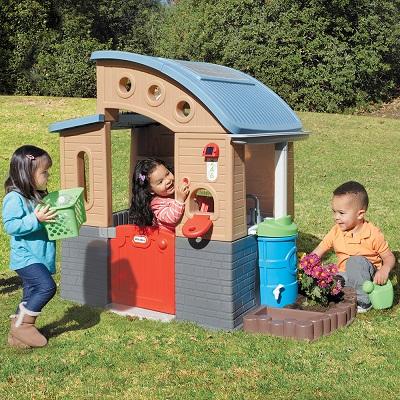 【美國Little Tikes】綠能小屋 增加親子互動兒童發展玩具