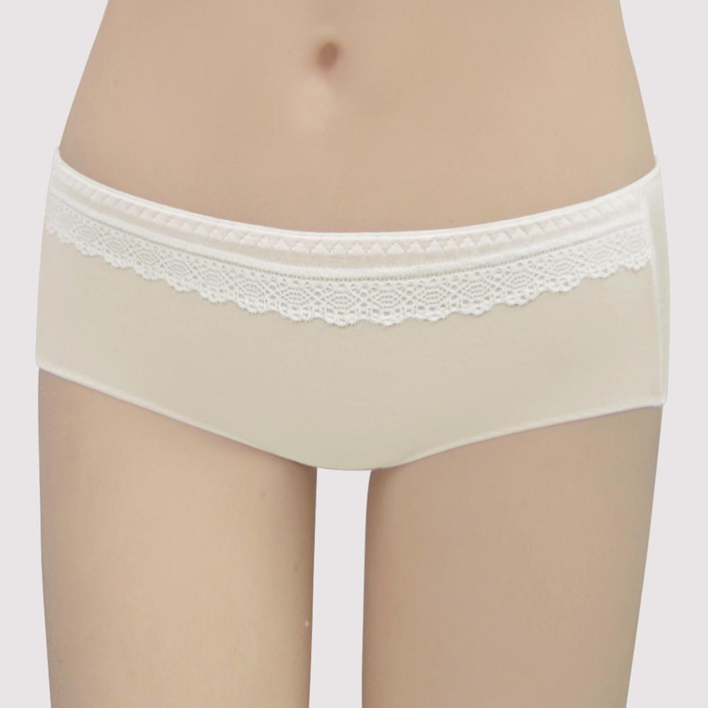 【曼黛瑪璉】Marie Q  低腰平口棉內褲M-XL(嫩芽黃)