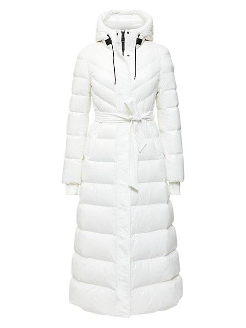 Calina Hooded Puffer Coat