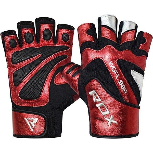 『VENUM旗艦館』RDX 英國 WGPL-S8R 重訓 健身手套 透氣 防磨 金屬感 尺碼 S
