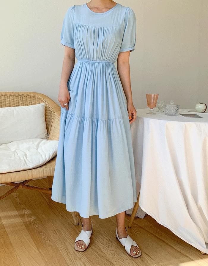 韓國空運 - Mary Cancan Dress 長洋裝