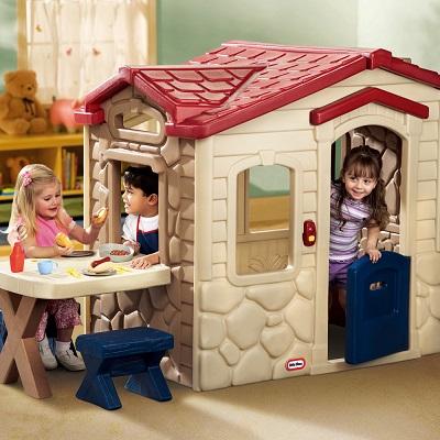 【美國Little Tikes】野餐遊戲屋 增加親子互動兒童發展玩具