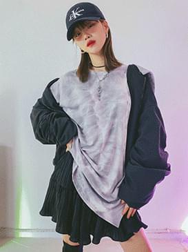 韓國空運 - Tie-dye bono T-shirt 長袖上衣