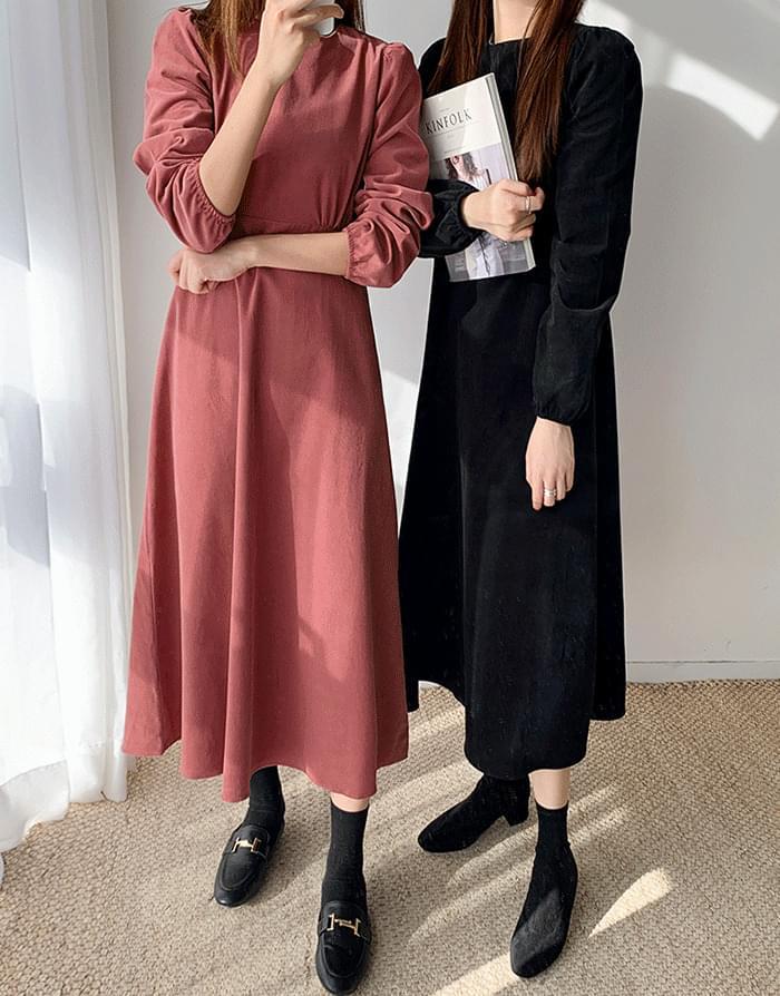 韓國空運 - Goldenholic Dress 長洋裝