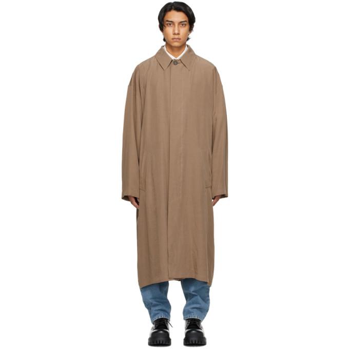 Balenciaga 棕色 Fluid 风衣