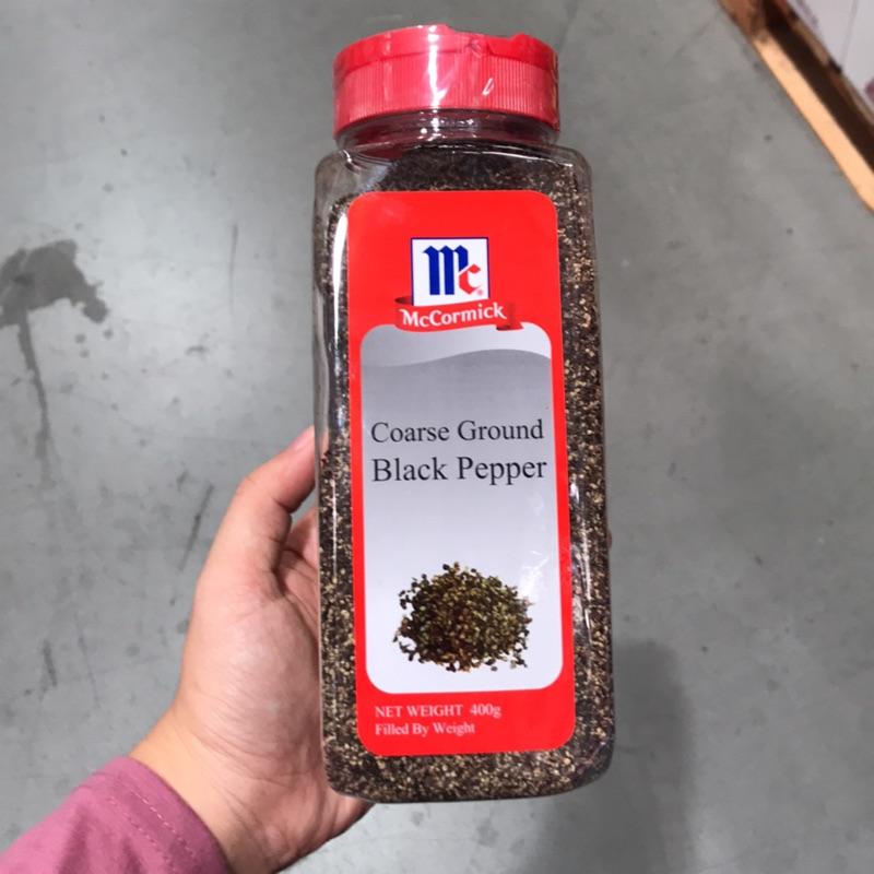 味好美粗粒黑胡椒400克_好市多代購