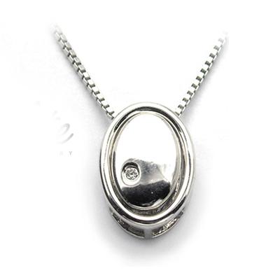 【伊麗珠寶 Elite Jewellery】925純銀項鍊 - 隨圓