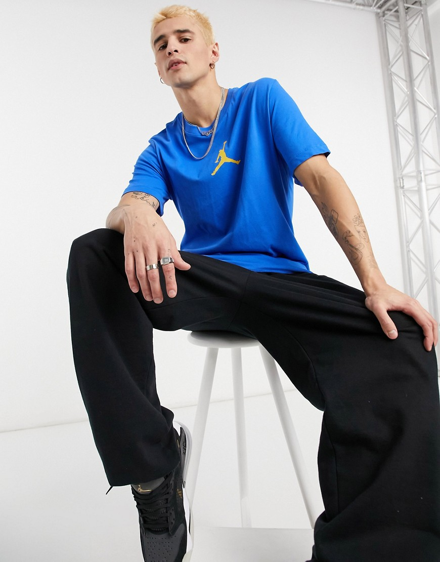 Nike Jordan Jumpman t-shirt in blue