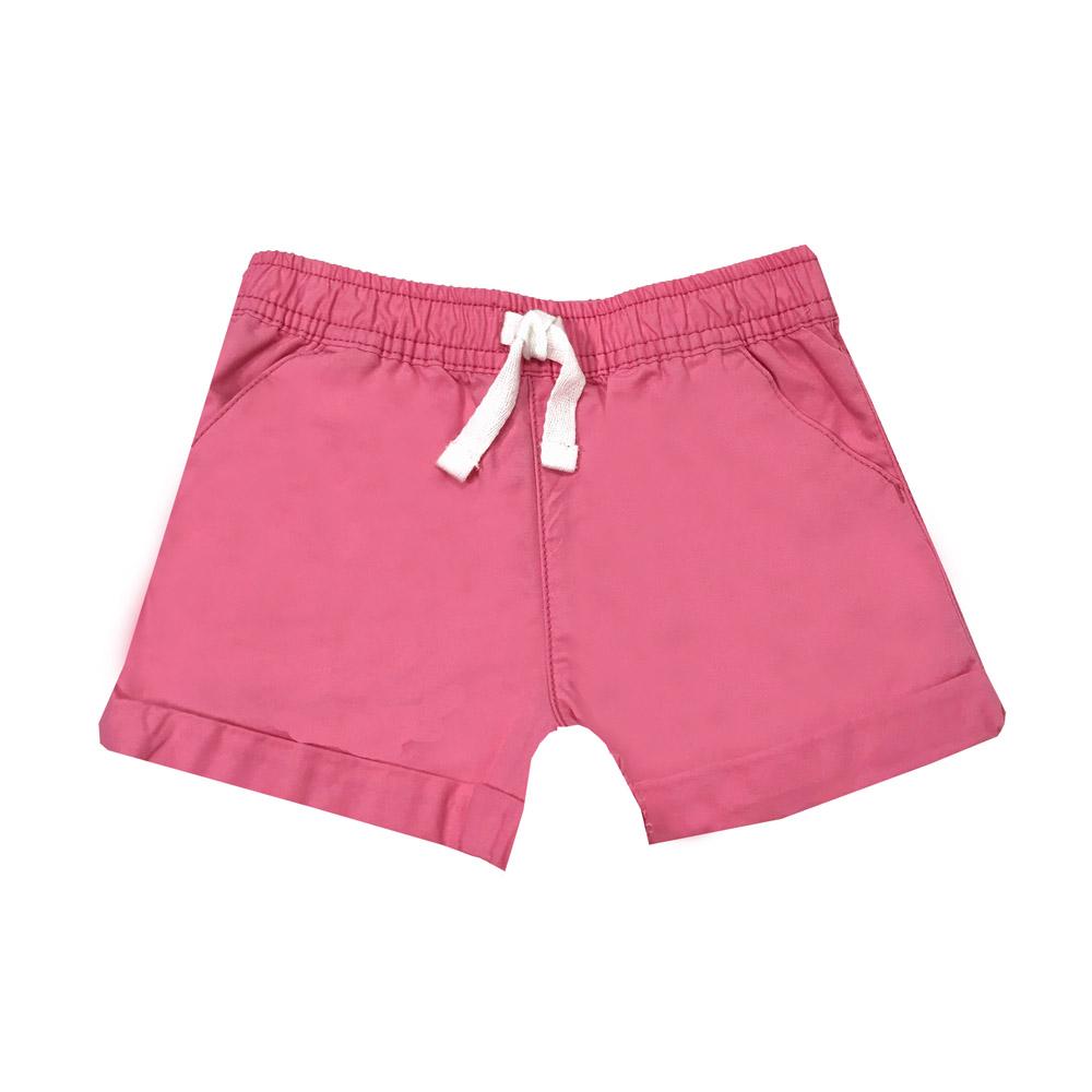 外出短褲 居家休閒  粉色 女寶寶   Carter's 卡特【CA236G735】BA0802