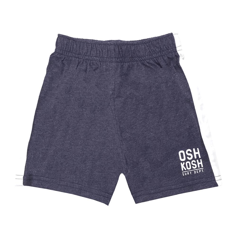 純棉運動休閒短褲 深灰 男童 | OSHKOSH【OS21996216】BB0603