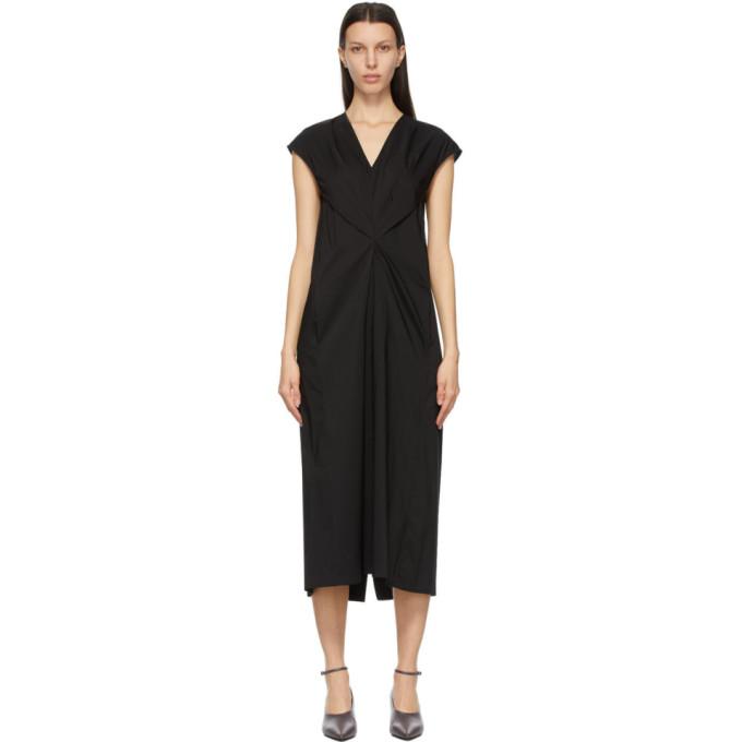 Studio Nicholson 黑色 Amatori 连衣裙