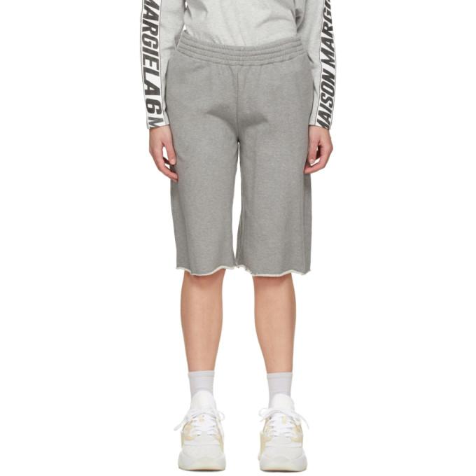MM6 Maison Margiela SSENSE 独家发售灰色运动短裤