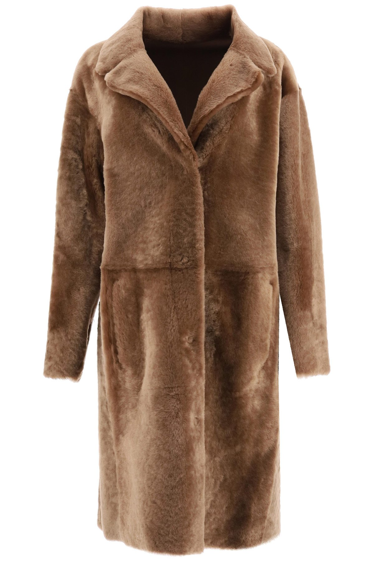 Drome reversible in shearling coat