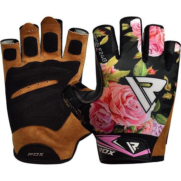 『VENUM旗艦館』RDX 英國 WGS-F24B 女性專用 健身手套 重訓 健身 防磨 尺寸 L