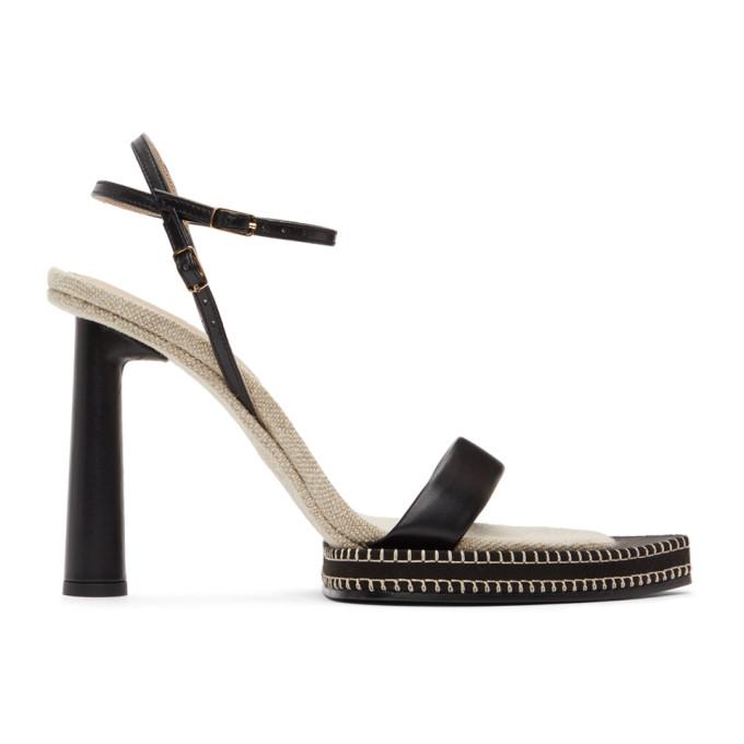 Jacquemus 黑色 Les Sandales Novio 凉鞋