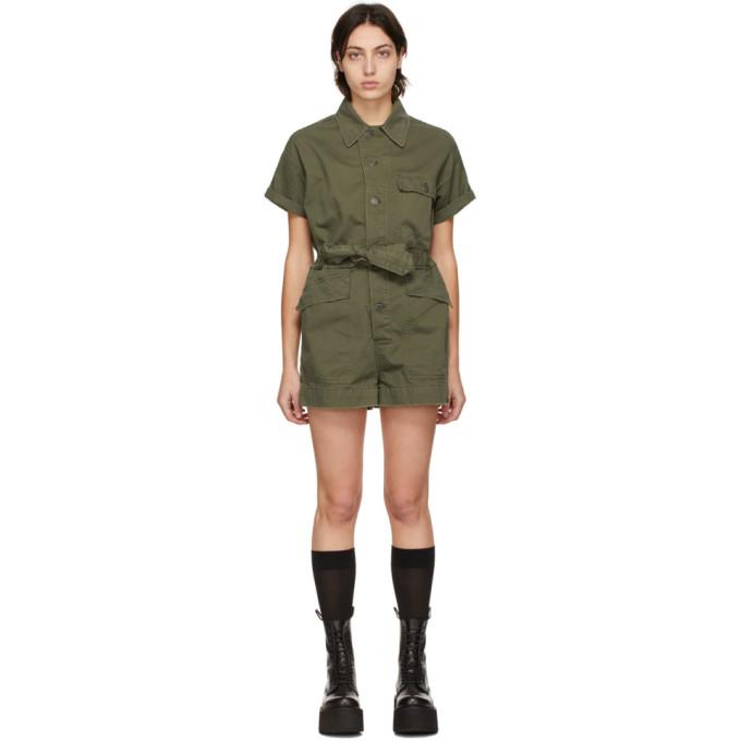R13 军绿色 Surplus 连身裤