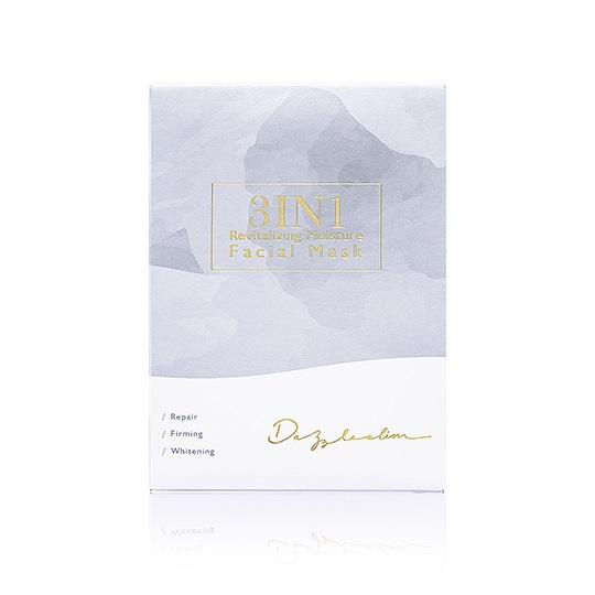 【Dazzleslim黛若詩琳】3IN1活養肌光清水膜(4片/盒)