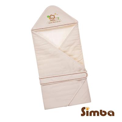 小獅王辛巴 有機棉嬰兒包巾