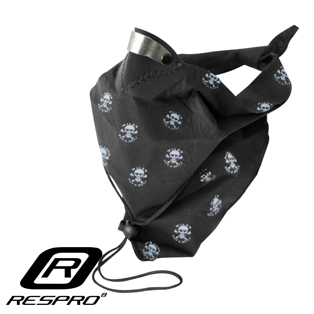 英國 RESPRO BANDIT 過濾PM2.5領巾式口罩( 骷髏 )