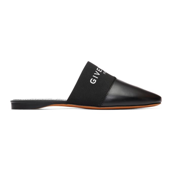 Givenchy 黑色 Bedford 穆勒鞋
