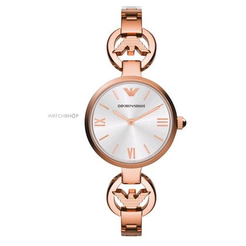 【ARMANI阿瑪尼】時尚淑女時尚氣質 休閑商務腕錶 女錶 AR1773 手錶 鋼帶手錶 女款手錶