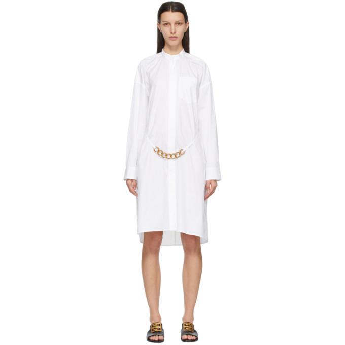 Givenchy 白色 Chain 连衣裙