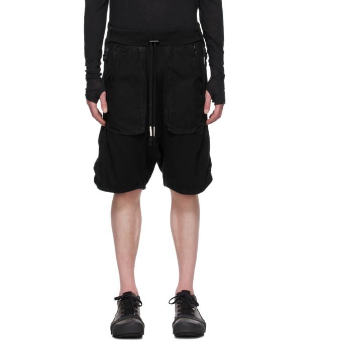 Boris Bidjan Saberi 黑色涂层短裤
