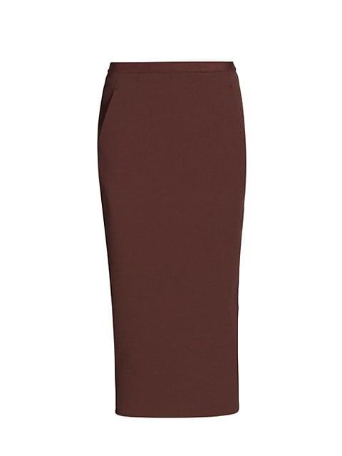Pillar Midi Skirt
