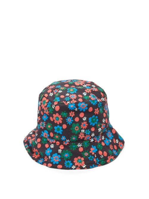 Marni - Floral-print Cotton Bucket Hat - Mens - Multi