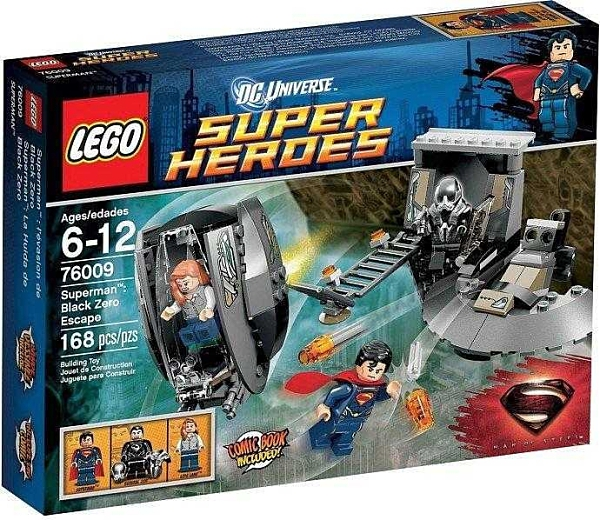 LEGO 樂高 SUPER HERO 超級英雄系列 Black Zero Escape 逃離黑零艦 76009