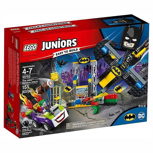 LEGO 樂高 Junior系列 The Joker™ Batcave Attack LT10753