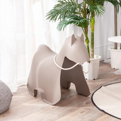 時尚生活造型椅凳-克若馬(灰)
