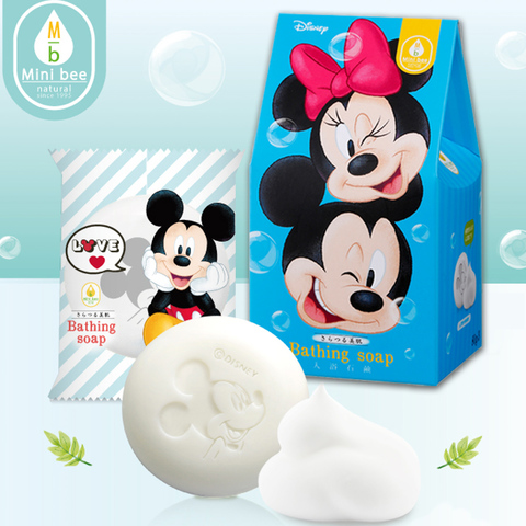 可愛米奇美膚皂80g3入組 [Mickey