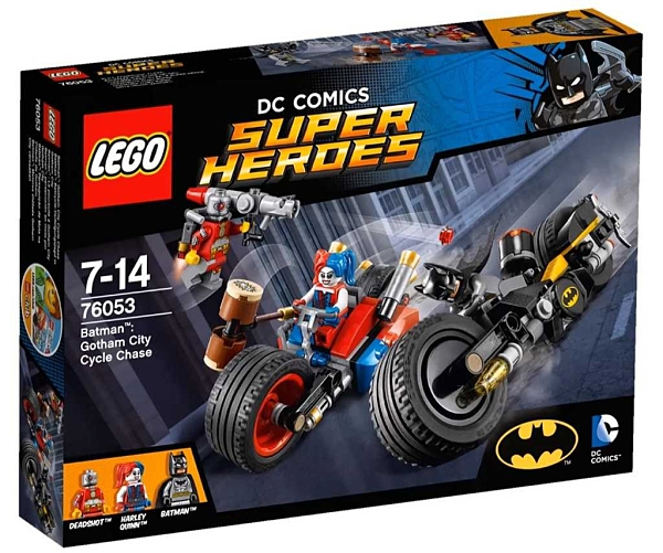 LEGO 樂高 Batman™: Gotham City Cycle Chase 蝙蝠俠:高譚市摩托車追逐戰 76053
