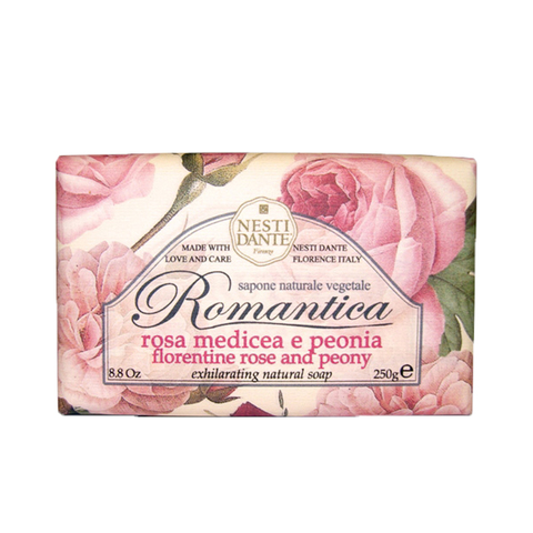 NESTI DANTE佛羅倫斯玫瑰牡丹皂250g