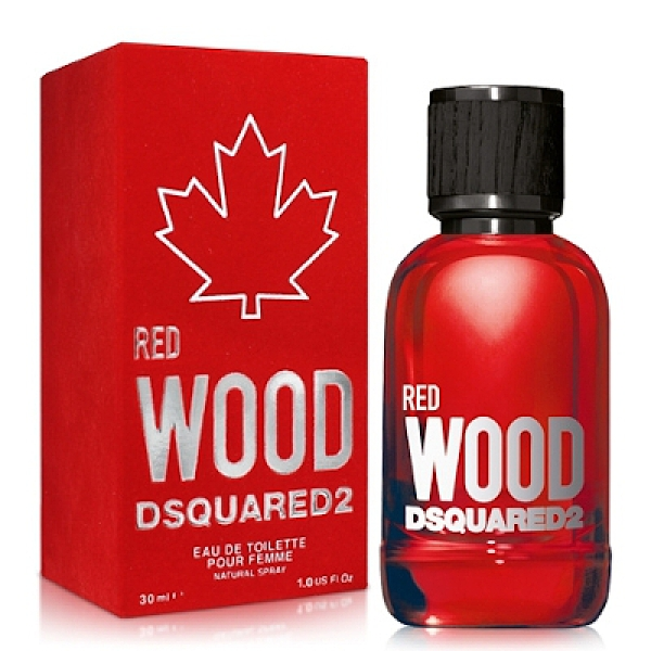 Dsquared2 Red Wood 心動紅女性淡香水 30ml