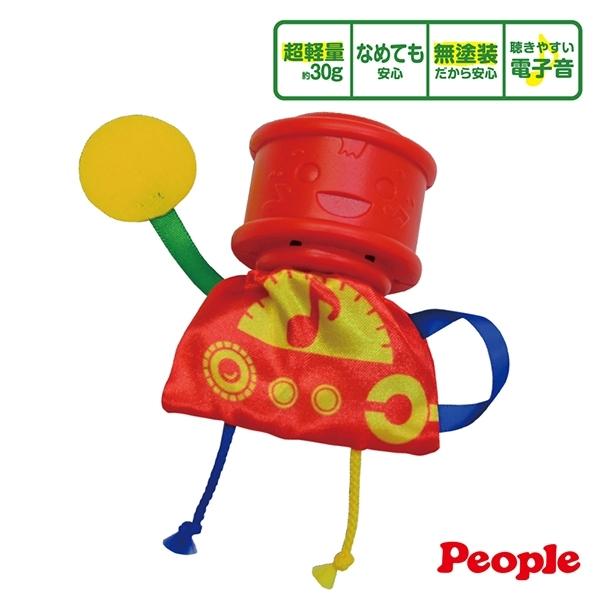 日本 People 超輕量振動感應手搖鈴