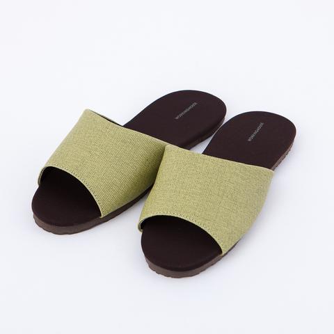 機能抗菌拖鞋-翡綠L