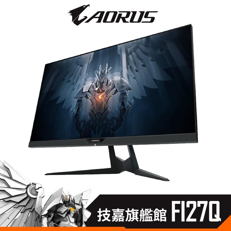 Gigabyte 技嘉 AORUS FI27Q 27型 IPS 2K 165Hz HDR 支援雙HDMI 電競螢幕