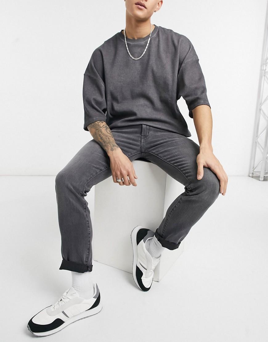Wrangler Larston slim jeans in grey
